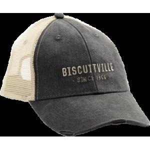 Gray Vintage Trucker Logo Hat