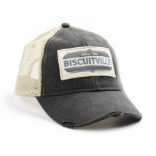 Grey/Tan Patch Trucker Hat