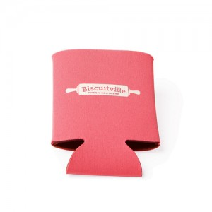 Neon Pink Collapsible Coozie